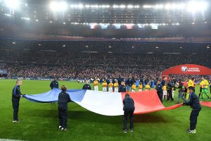 France 2 vs Suede 1 - Stade de France - Saint-Denis, le 11/11/2016. Photo Stephane Kempinaire/KMSP